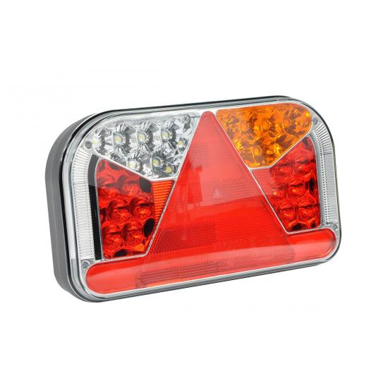 LAMPA TYLNA PRAWA Z TRÓJKĄTEM ODBLASKOWYM FT-170 LED